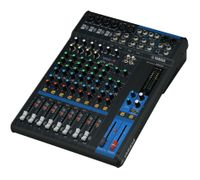 12-Channel Mixing Console: Max. 6 Mic / 12 Line Inputs (4 mono + 4 stereo) / 2 GROUP Buses + 1 Stereo Bus / 2 AUX (incl. FX) – MG12