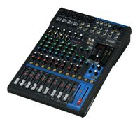 16-Channel Mixing Console: Max. 10 Mic / 16 Line Inputs (8 mono + 4 stereo) / 4 GROUP Buses + 1 Stereo Bus / 4 AUX (incl. FX) – MG16XU