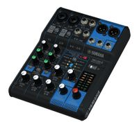 6-Channel Mixing Console: Max. 2 Mic / 6 Line Inputs (2 mono + 2 stereo) / 1 Stereo Bus – MG06X