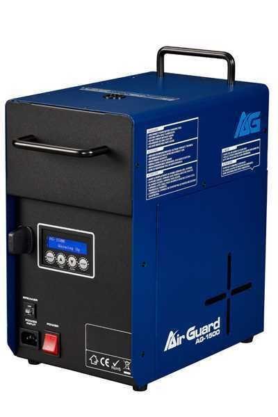 Air Guard 1500 Watt Efficient Sanitizing Machine with Built-In Timer and Wireless Remote - AG-1500