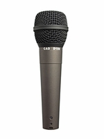 Astatic Supercardioid Dynamic (no switch)  - with 15' XLR-M to XLR-F cable - D189