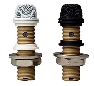 """Astatic Variable pattern installation boundary """"button"""" microphone White - 220VPW"""