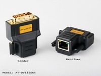 Atlona 1080p DVI Passive Extender over Single Cat5 up to 100ft (SENDER/RECEIVER INCLUDED) - AT-DVI15SRS
