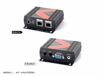 Atlona VGA with Stereo Audio CAT5 Extender with CAT5 loop-outs (receiver unit) - AT-VGA300RL