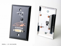 Atlona Wall Plate Style DVI Receiver over single Multi Mode Fiber with HDCP and EDID Support - AT-DVIFW10R