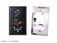 Atlona Wall Plate Style HDMI Transmitter over single Multi Mode Fiber with HDCP and EDID Support - AT-HDFW10S