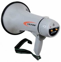 Califone PA-15 - 15 Watt Megaphone with Built-In Siren