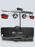 Chauvet DJ Gig Bar 2 Includes: wireless footswitch, stand, carry bags - GIGBAR2