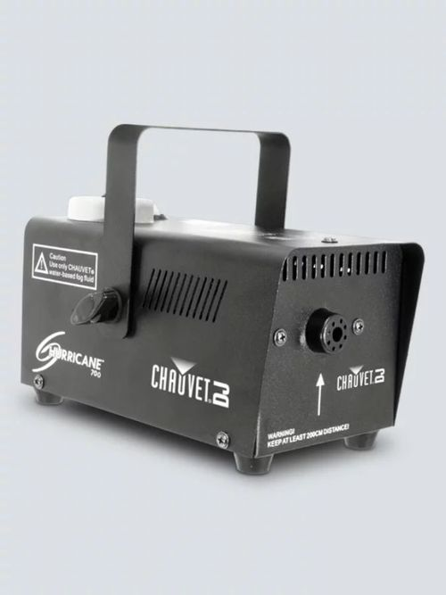 Chauvet DJ Hurricane 700                                                                                                 Includes: wired remote, pint of fluid - H700