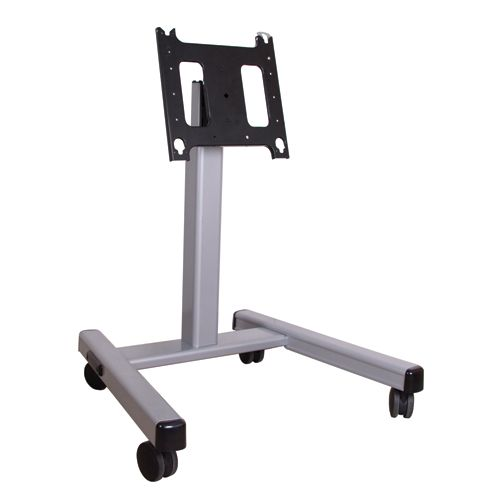Chief Large Confidence Monitor Cart 3' to 4' (without interface; Silver) - PFM2000S