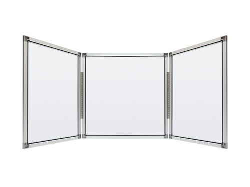 Student Clear 3-Panel Tabletop Divider - Clarity Shield 3