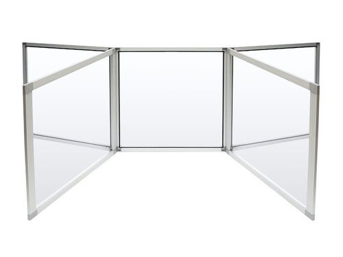 Student Clear 5-Panel Tabletop Divider - Clarity Shield 5