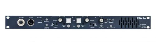 Clear-Com 2-Channel 1RU Main Station with built-in Speaker - MS-702