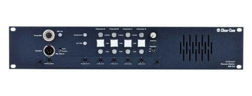 Clear-Com 4-Channel 2RU Remote Station with built-in Speaker - RM-704