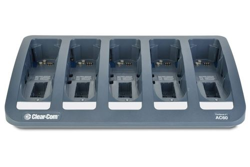 Clear-Com 5-way Drop-in Battery and Beltpack Charger - AC60