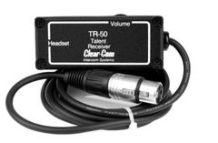 Clear-Com Monaural IFB Talent Receiver - TR-50