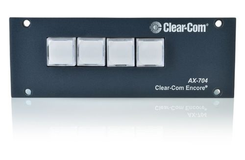 Clear-Com Program Interrupt and IFB Expansion Talent Access Station - AX-704