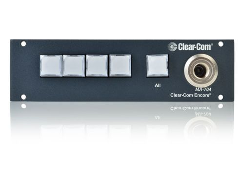 Clear-Com Program Interrupt and IFB Master Control and Access Station - MA-704