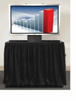 Draper Flatscreen Lift/Case Combo For Displays Smaller Than 50""