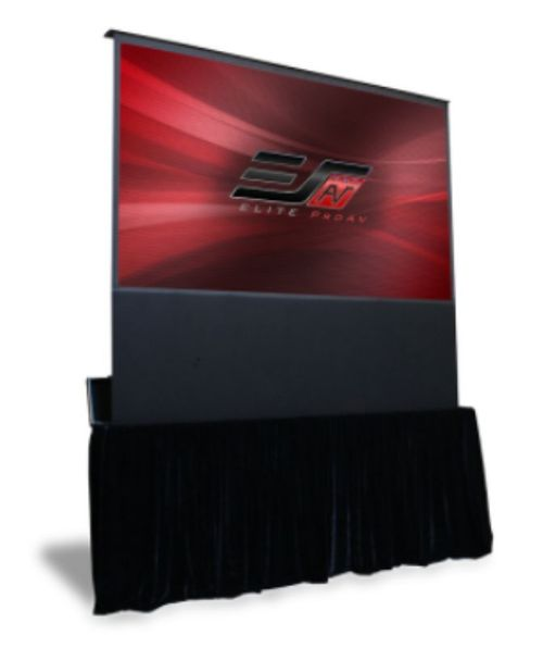 "EPAV Kestrel Stage100"" Front Projection Screen, MaxWhite® Fiberglass (FG) Fabric - FE100H-TC"