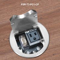FSR T3-PC1-CP Table Box Includes: Power and Pull out Cables for VGA, Audio and Network