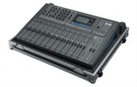 Gator Cases ATA Wood Flight Case Custom Fit for Soundcraft Si Impact Mixing Console - G-TOURSIIMPACTNDH