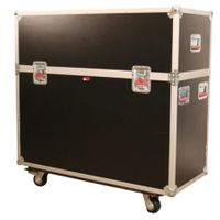 "Gator Cases ATA Wood Flight Case w/ Hydraulic LCD Lift & Casters; Fits LCD & Plasma Screens Up to 65"" - G-TOURLCDLIFT65"