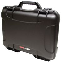 "Gator Cases Black Waterproof Injection molded case, with interior dimesions of 13.2"" x 9.2"" x 3.8"". NO FOAM - GU-1309-03-WPNF"