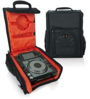 "Gator Cases G-Club Series Carry Bag for Large DJ CD Players or 12"" DJ Mixers with Headphone Storage. Fits Pioneer CDJ 2000, Numark NDX 800, Stanton C324-NA, A&H - Xone:42, Denon DN-X1100 and more - G-CLUB CDMX-12"