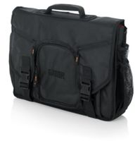 "Gator Cases G-Club Series Messenger Style Bag to hold Laptop based DJ midi Controllers up to 19"", laptop, and headphones - G-CLUB CONTROL"