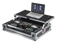 Gator Cases G-TOUR Universal Fit Road Case for Small Sized DJ Controllers with Sliding Laptop Platform - G-TOURDSPUNICNTLC