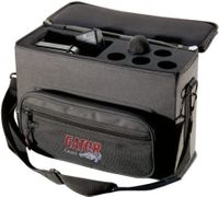 Gator Cases Padded Bag for 5 Wireless Mic Systems - GM-5W