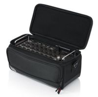 "Gator Cases Padded Nylon Bag Custom Fit for the Behringer X-AIR series Mixers; 13.1"" X 6.25"" X 6"" - G-MIXERBAG-1306"