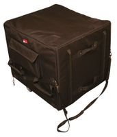 Gator Cases Sub Woofer Nylon Bag w/ Built-In Casters; Fits Subs By Cerwin Vega, JBL, Mackie & Many More - G-SUB2225-24BAG