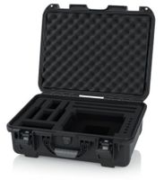 Gator Cases Titan Series Waterproof Injection Molded Case with Foam Insert In Ear Monitoring System and Accessories - G-INEAR-WP
