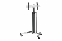 InFocus Mobile Cart Pro For MondoPad, BigTouch, or JTouch (Silver) - INF-MOBCARTPRO-S