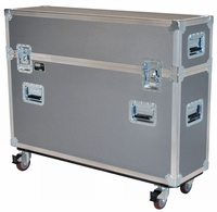 "Jelco Compact Road Case for 46""-52"" Flat Screen (No Room for Detached Speakers/Stand) 45""H x 58""W x 14""D JEL-PDP50T1"