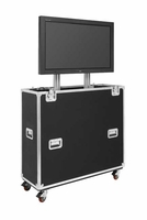 "Jelco EZ-LIFT Shipping & Display TV Lift Case for 46-52"" Flat Screen Display: 51""H x 55""W x 19""D - EL-50"