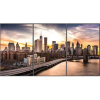 "LG 3x1 Portrait Video Wall with 65"" Displays - 65EV5C-3BO"