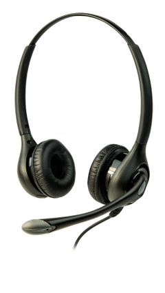 Listen Technologies ListenTALK Headset 3 (Over Head Dual w/Boom Mic) - LA-453