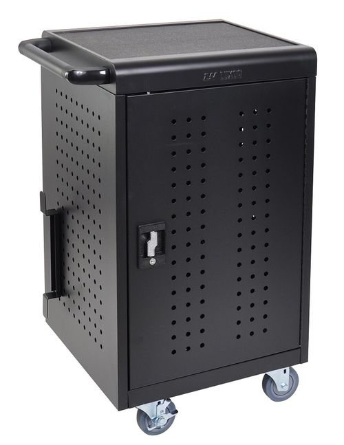 Luxor 30 Capacity Tablet/Chromebook Charging cart - LLTM30-B-UPS