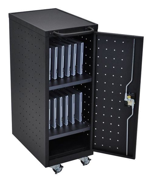 Luxor Tablet Charging Cart - LLTP12-B-UPS