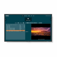 NEC 24/7 1080P FHD Display with integrated SoC MediaPlayer w/ CMS platform - V404-MPI