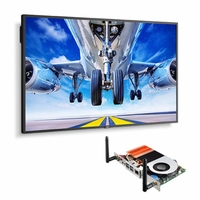 """NEC 43"""" Wide Color Gamut Ultra High Definition Professional Display with Built-In Intel PC - P435-PC5"""