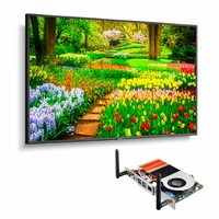 """NEC 49"""" Ultra High Definition Professional Display with Built-In Intel PC - M491-PC5"""