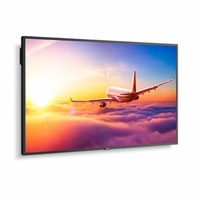 """NEC 49"""" Wide Color Gamut Ultra High Definition Professional Display with integrated SoC MediaPlayer with CMS platform - P495-MPI4E"""