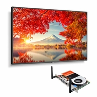 """NEC 55"""" Wide Color Gamut Ultra High Definition Professional Display with Built-In Intel PC - MA551-PC5"""