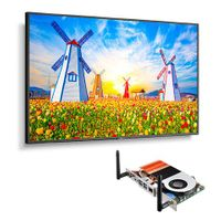 """NEC 65"""" Ultra High Definition Professional Display with Built-In Intel PC - M651-PC5"""