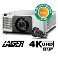 NEC NP-PX1004UL-W-18 Laser Projector - NO LENS