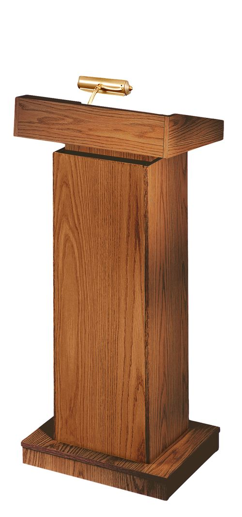 Oklahoma Sound The Orator Lectern (Non-Sound, Medium Oak) - 810-MO